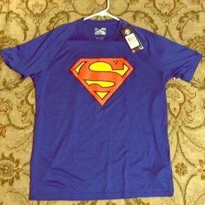 Under armour Superman shirt